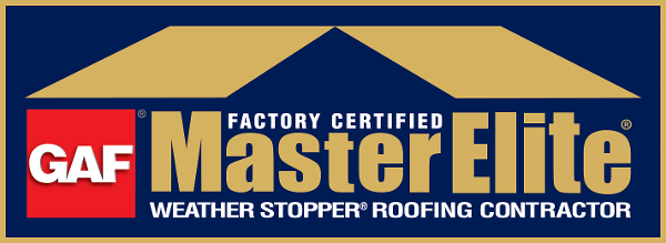 Factory Certified MasterElite Weather Stopper Roofing Contractor